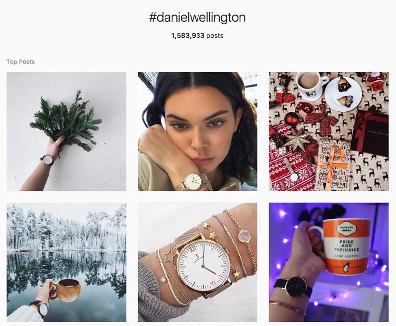 Daniel Wellington - Influencer Marketing