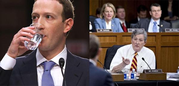 Mark Zuckerberg ABD Senatosunda